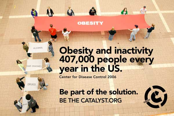 GIANT OBESITY BAR GRAPH